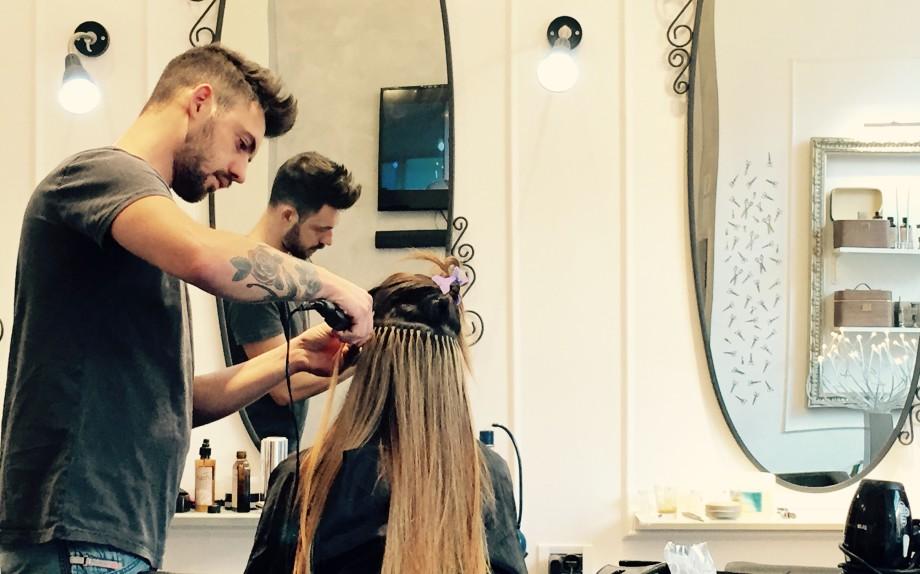 Extension capelli cucite napoli
