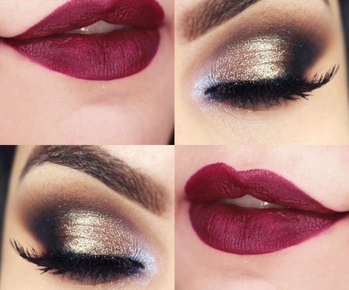 Amato Oro, argento e glitter. Il make up per le feste CS21