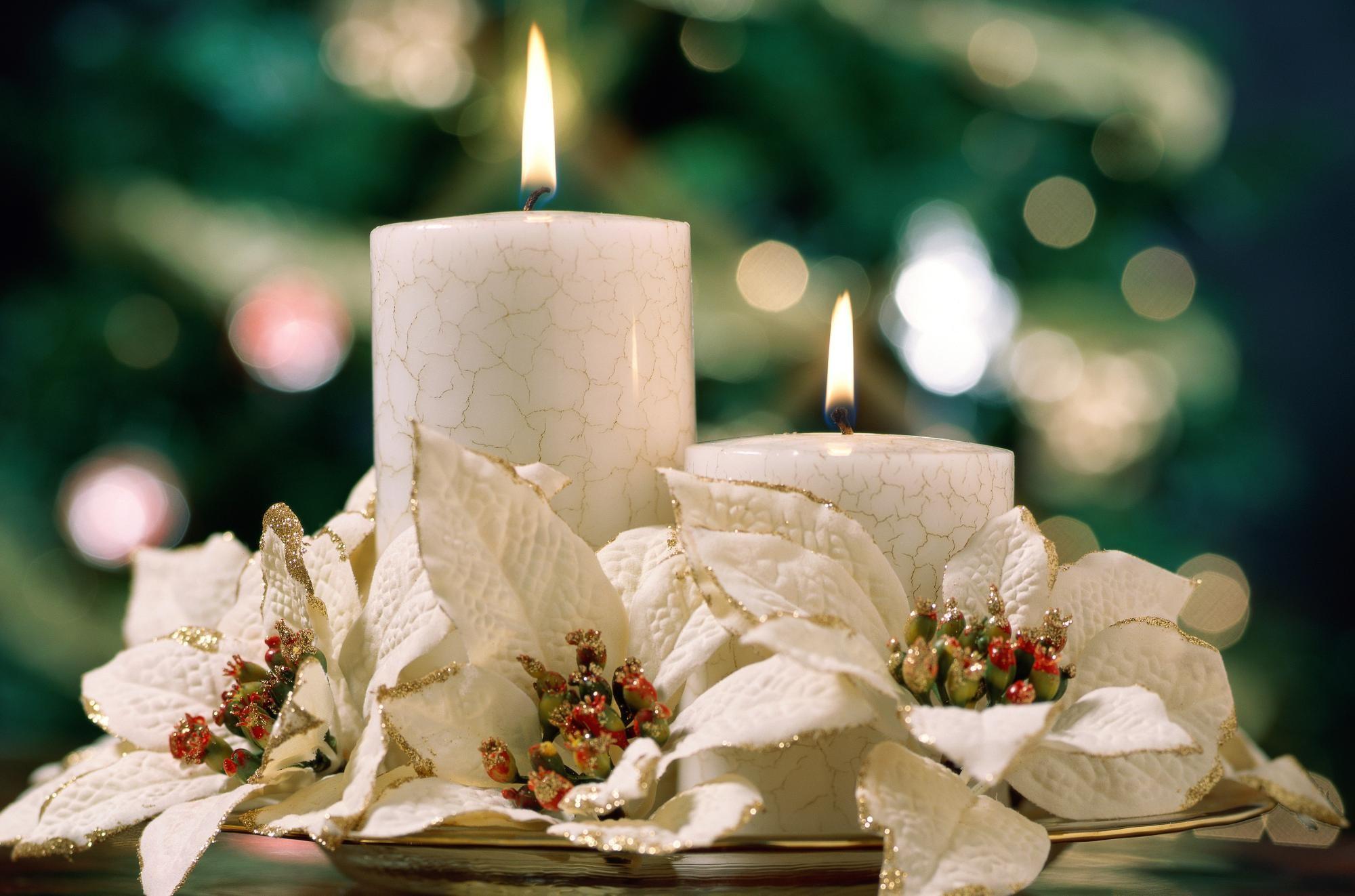 Decorare Candele Di Natale : Etichetta tradizionale di natale candela regalo decorazione della