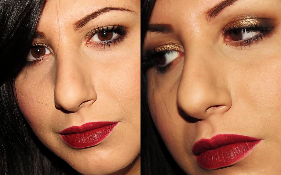 brown smkey e cherry lips