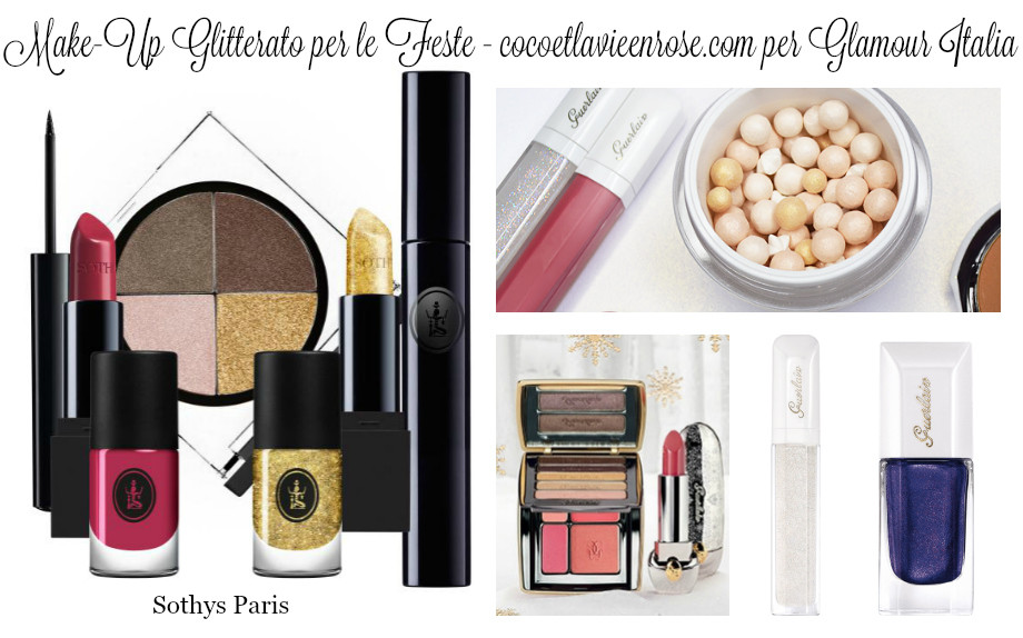 makeup glitterato glamour oriz