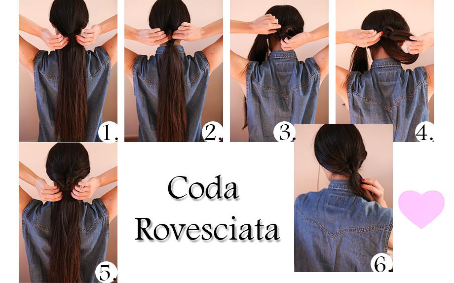 Coda bassa capelli medi