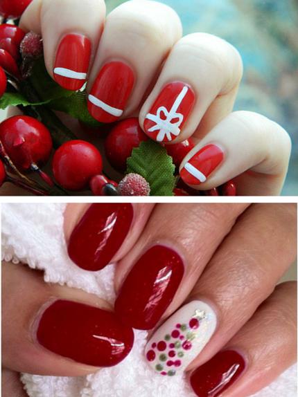Top Unghie natalizie 2015: nail-art semplici per tutte - Glamour.it EX91