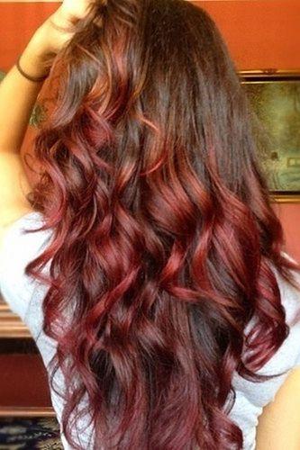 Cherry Bombrè Hair