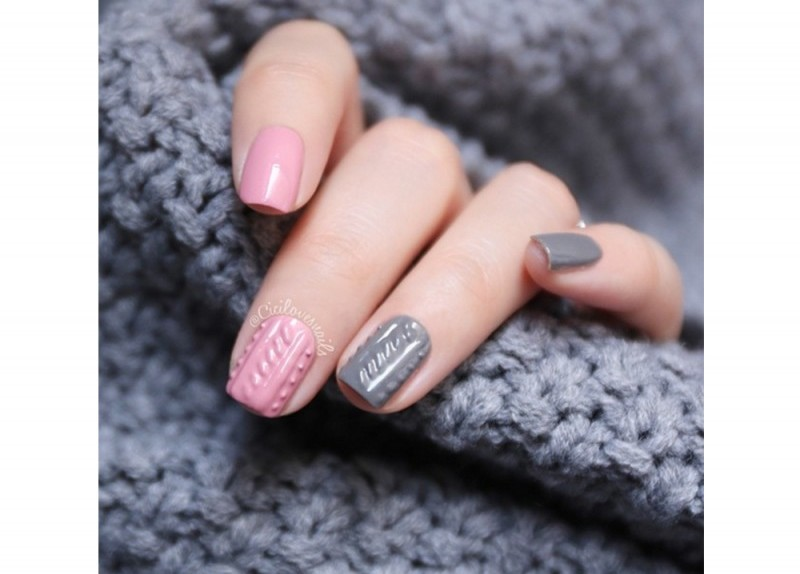 Knitted nail art mania - Glamour.it
