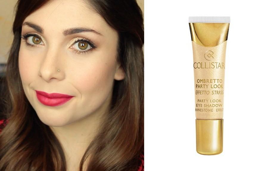 Il make-up per Natale  oro f005b712eac0