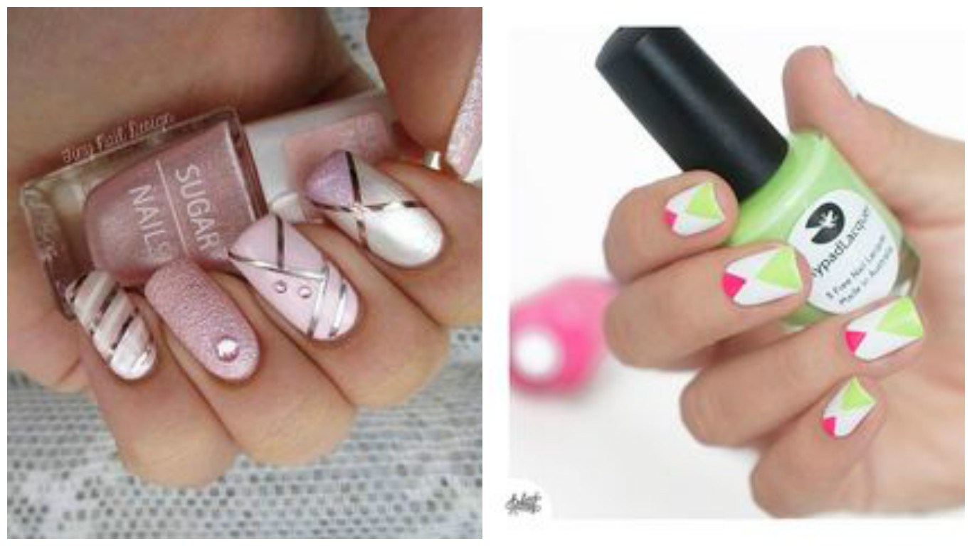 spesso Summer Nail Art We Heart It ~ Beauty black swallow nails on we  ZQ94