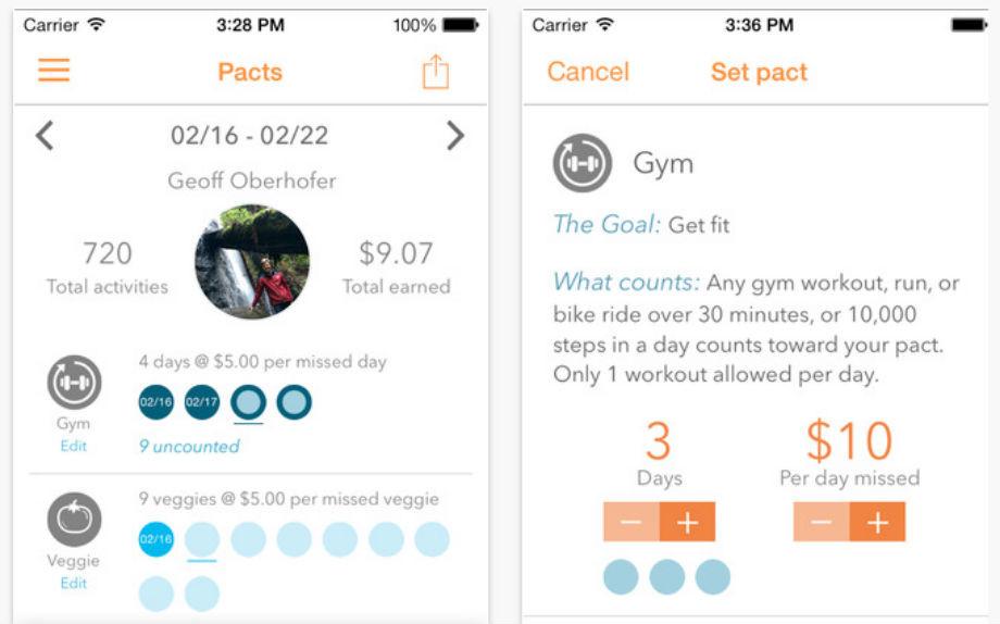 Pact l 39 app che ti paga per allenarti ma ti chiede i for App che ti paga per camminare