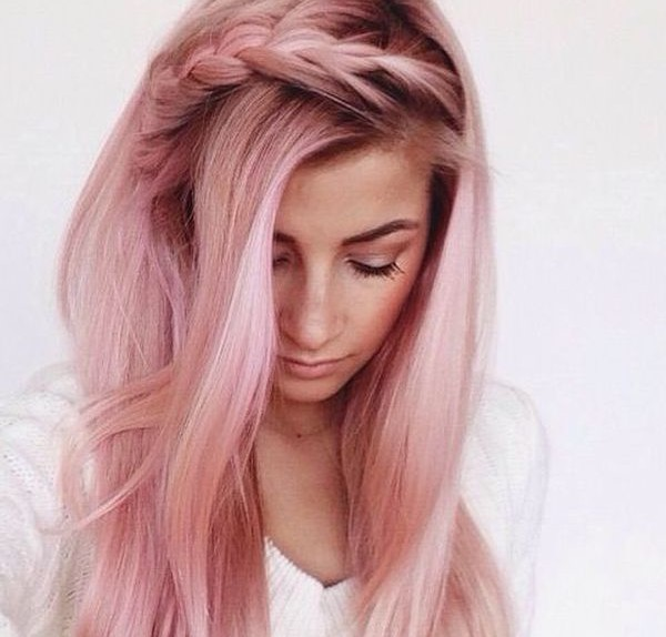 Capelli Rosa Il Trend Must Have Del 2016 Glamour It
