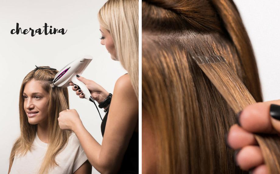 Extension su capelli corti roma