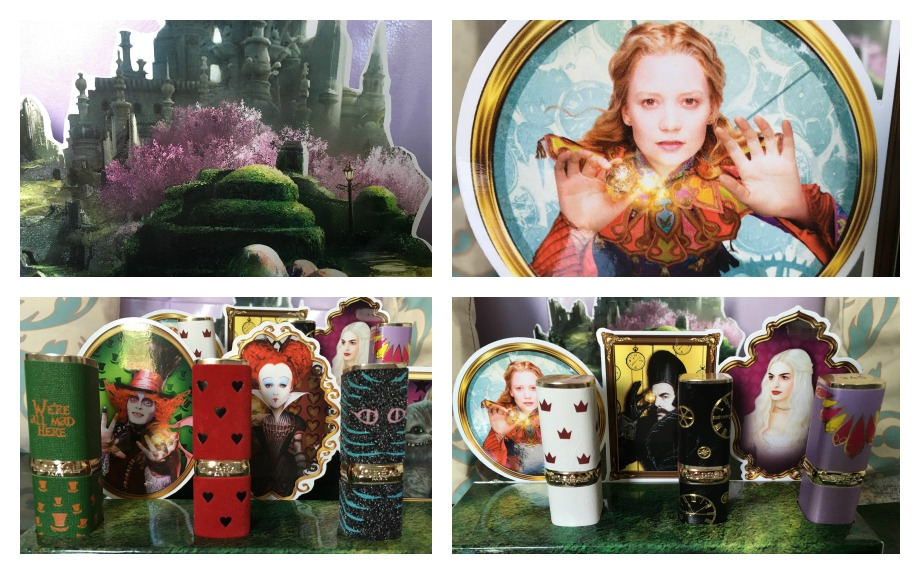 New make up alice through the looking glass for T roc specchio