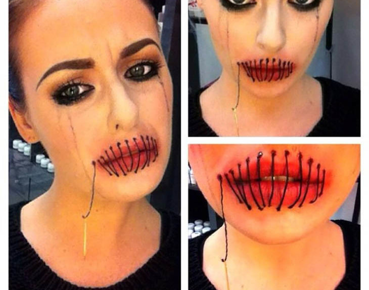Conosciuto How-to: trucco per Halloween - Glamour.it MU24