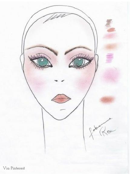 trucco pelle chiara  (2)