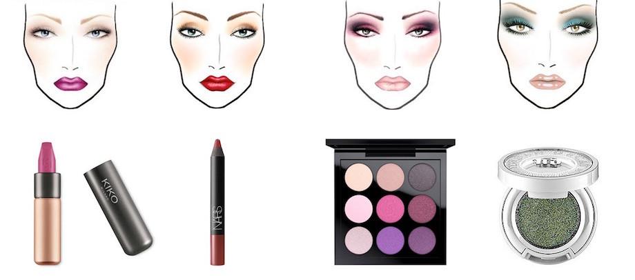 Idee make-up per la pelle media