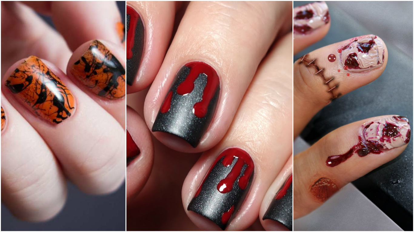 Super Unghie decorate: nail art Halloween 2016 - Glamour.it MF62