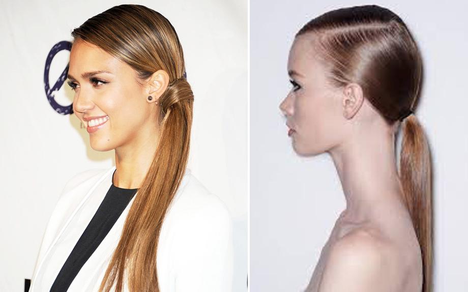 Hairstyle antipioggia