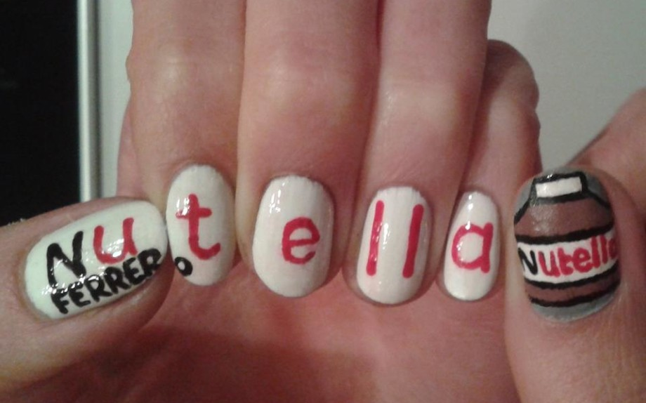 ferrero-food-nail-polish-nail-art-nails-nutella-woman-Favim.com-793773