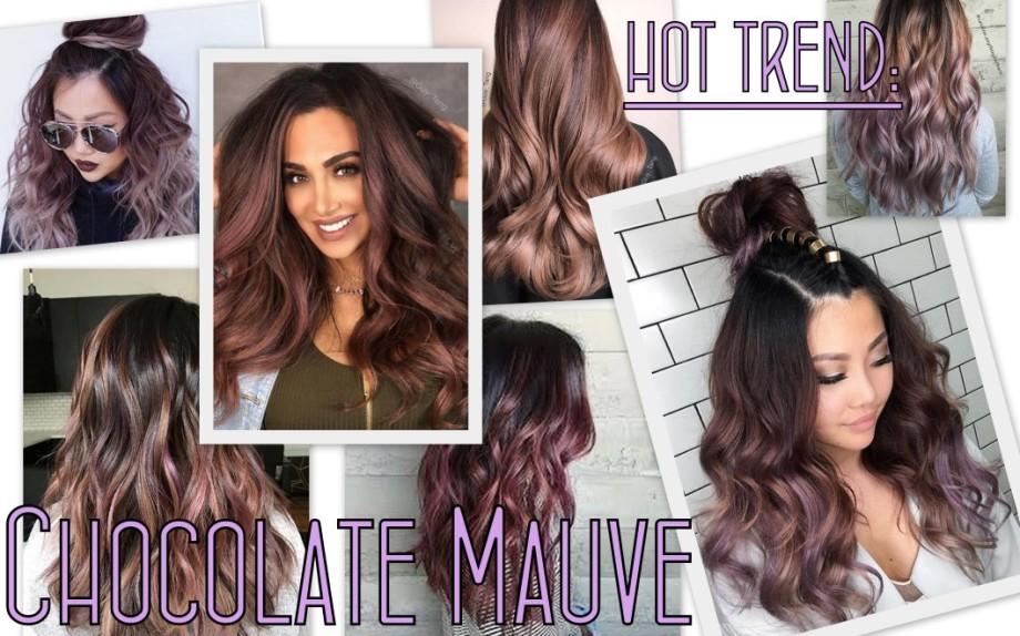 Hannah Edelman Chocolate Mauve Hair