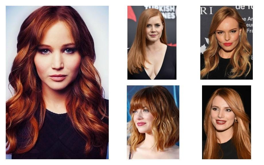 rosso colore moda capelli inverno 2017 blonde