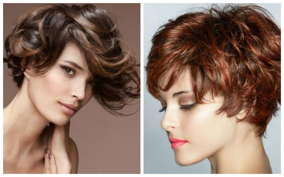 Tagli capelli corti ondulati