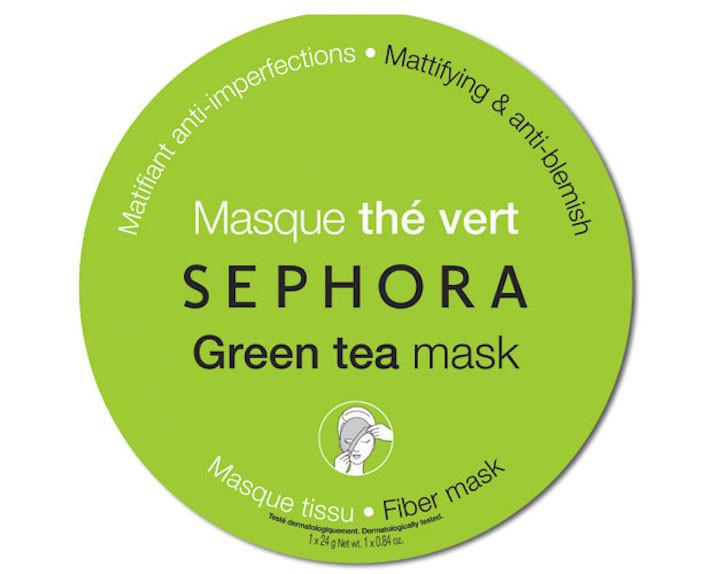 Maschera anti-imperfezioni e opacizzante al thé verde Sephora