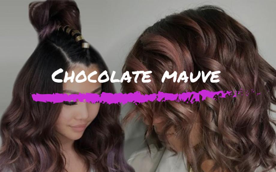 chocolate mauve capelli