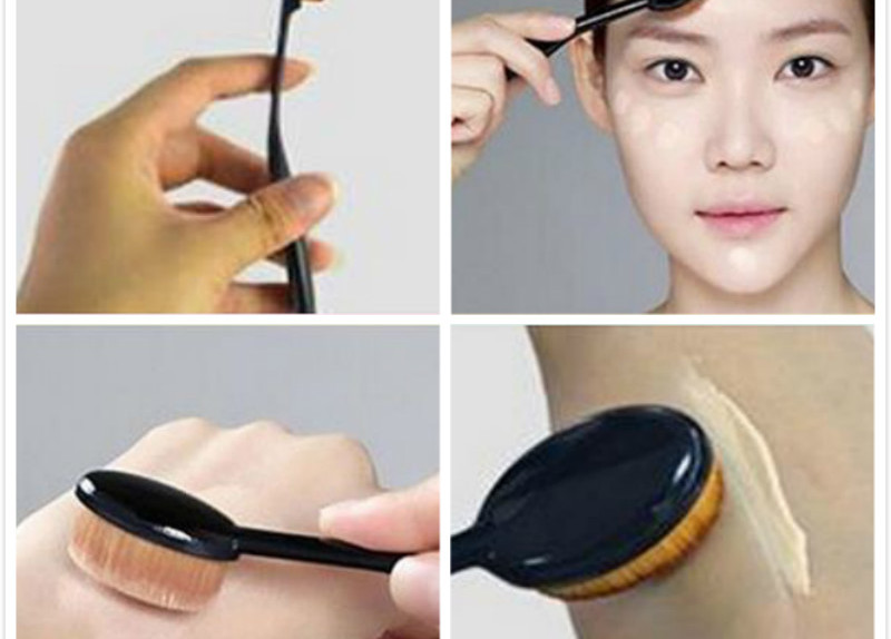 1Pc-Power-Makeup-Brush-Beauty-Oval-Cream-Puff-Cosmetic-Toothbrush-shaped-foundation-brush