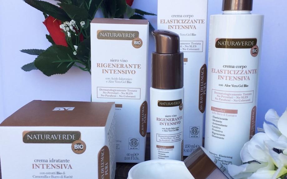Crema viso, crema corpo e siero Naturaverde Bio