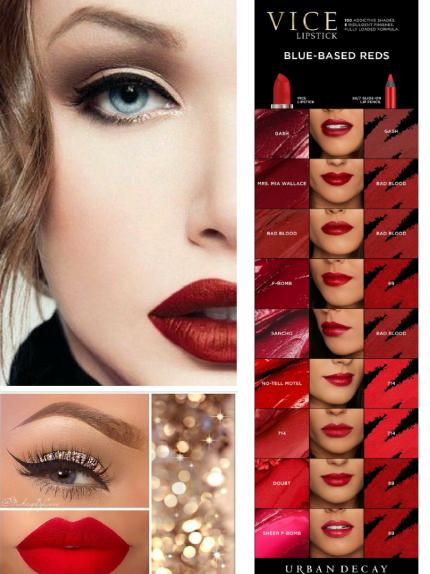 xmas red lips 5