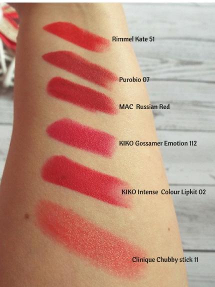 xmas red lips 7