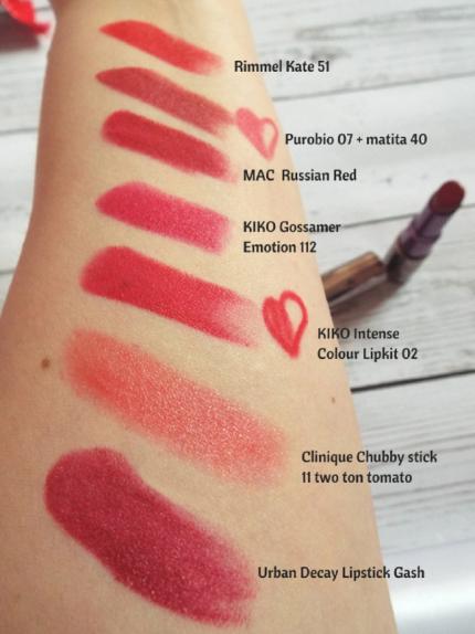 xmas red lips 8