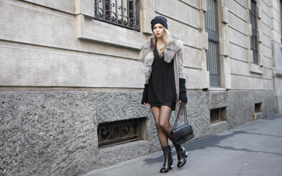 look n.1 virginia varinelli per glamour goldenlady
