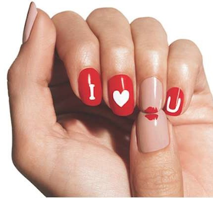 manicure-per-san-valentino-i-love-you