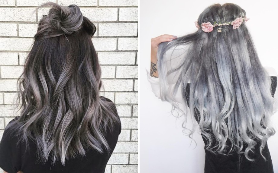 Capelli Grigi 2017 Da Granny A Gray Ombr 232 Glamour It