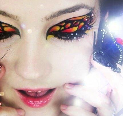 make-up-farfalla