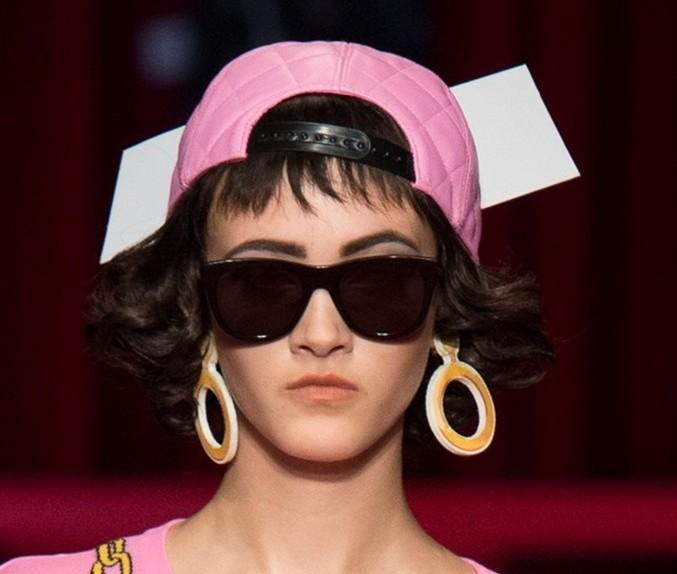 Modella Greta Varlese Moschino
