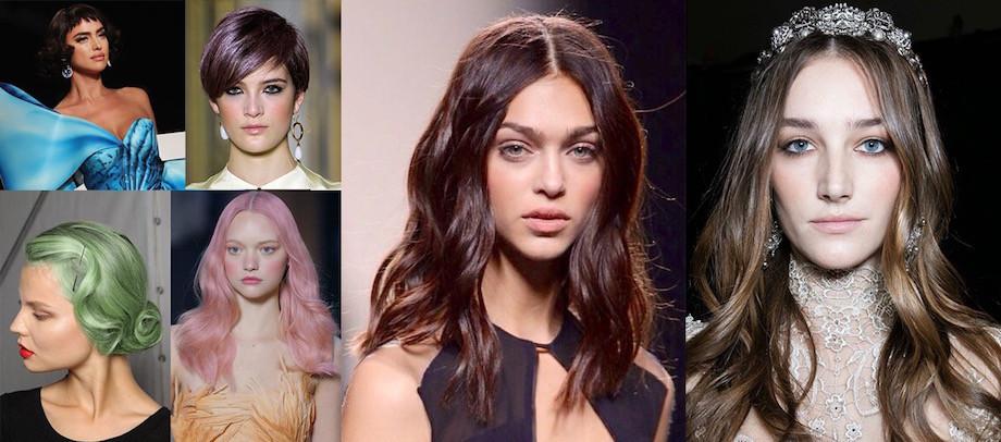 Le tendenze colore per i capelli della primavera 2017