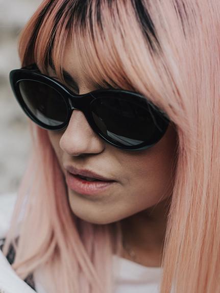 Capelli colorati: I toni top della primavera 2017-capelli rosa
