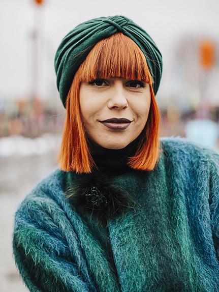 Capelli colorati: I toni top della primavera 2017-capelli arancio