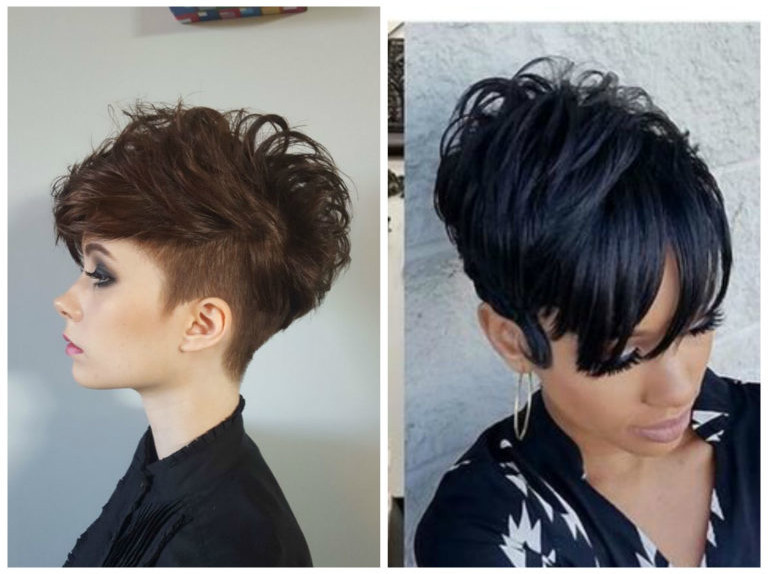 Tagli capelli corti ricci 2019 donne