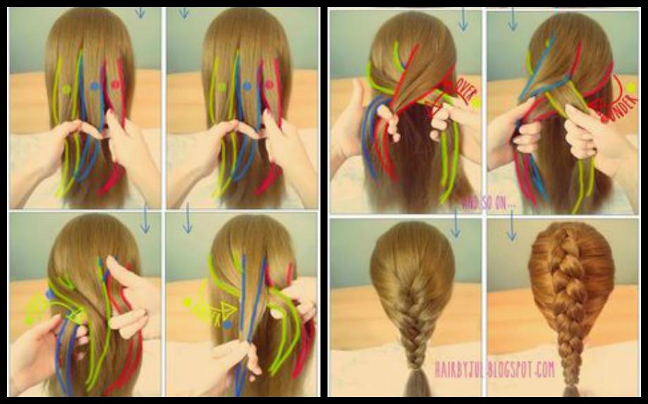 Come fare le trecce per capelli corti