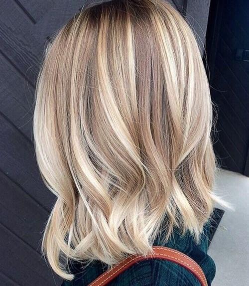 Colori capelli biondi con meches