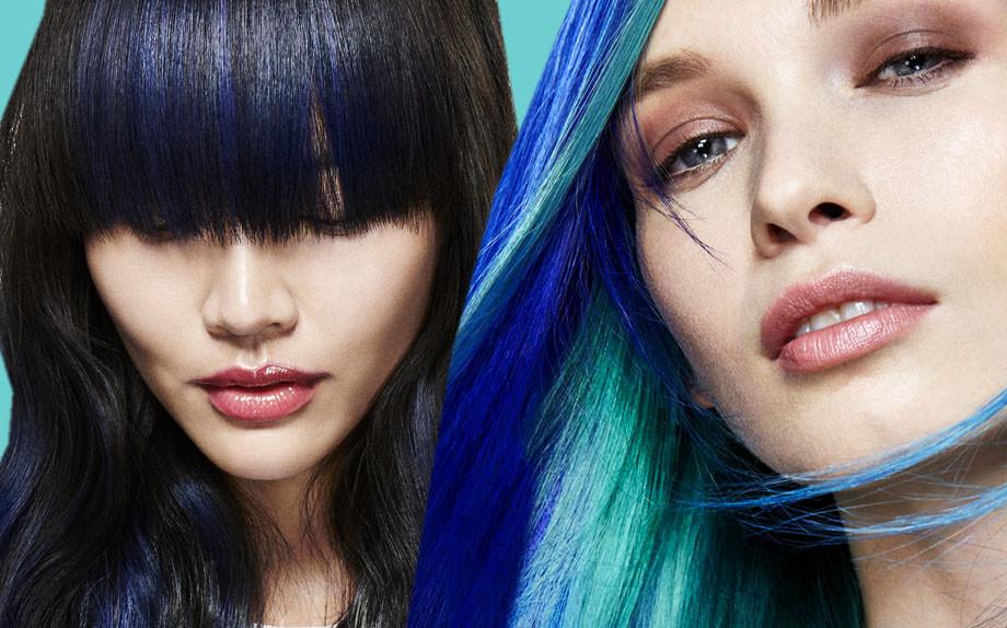 Colore nero blu capelli a chi sta bene