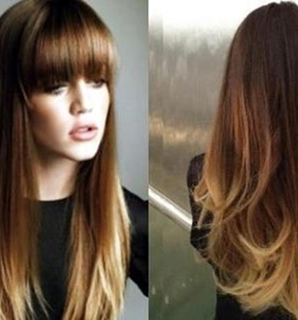 Tagli capelli lunghi non scalati