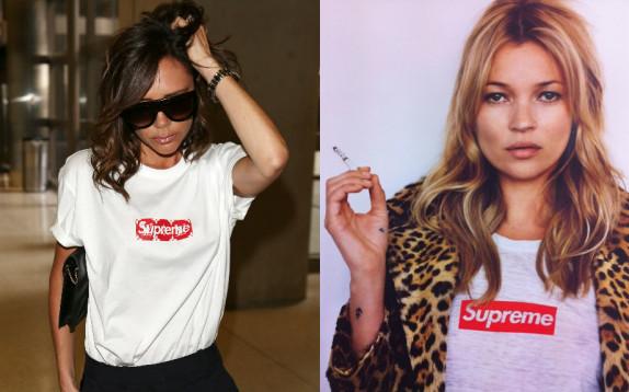 354299a2a527 Prima Kate Moss poi Victoria Beckham  copia il beauty look da ...