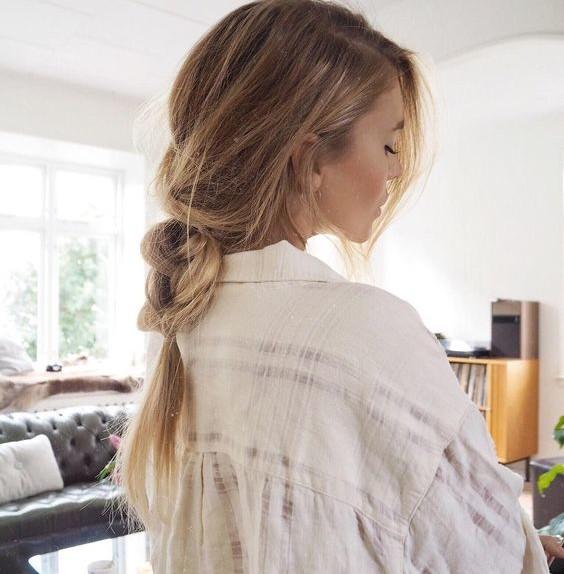 Argille in trattamento di capelli