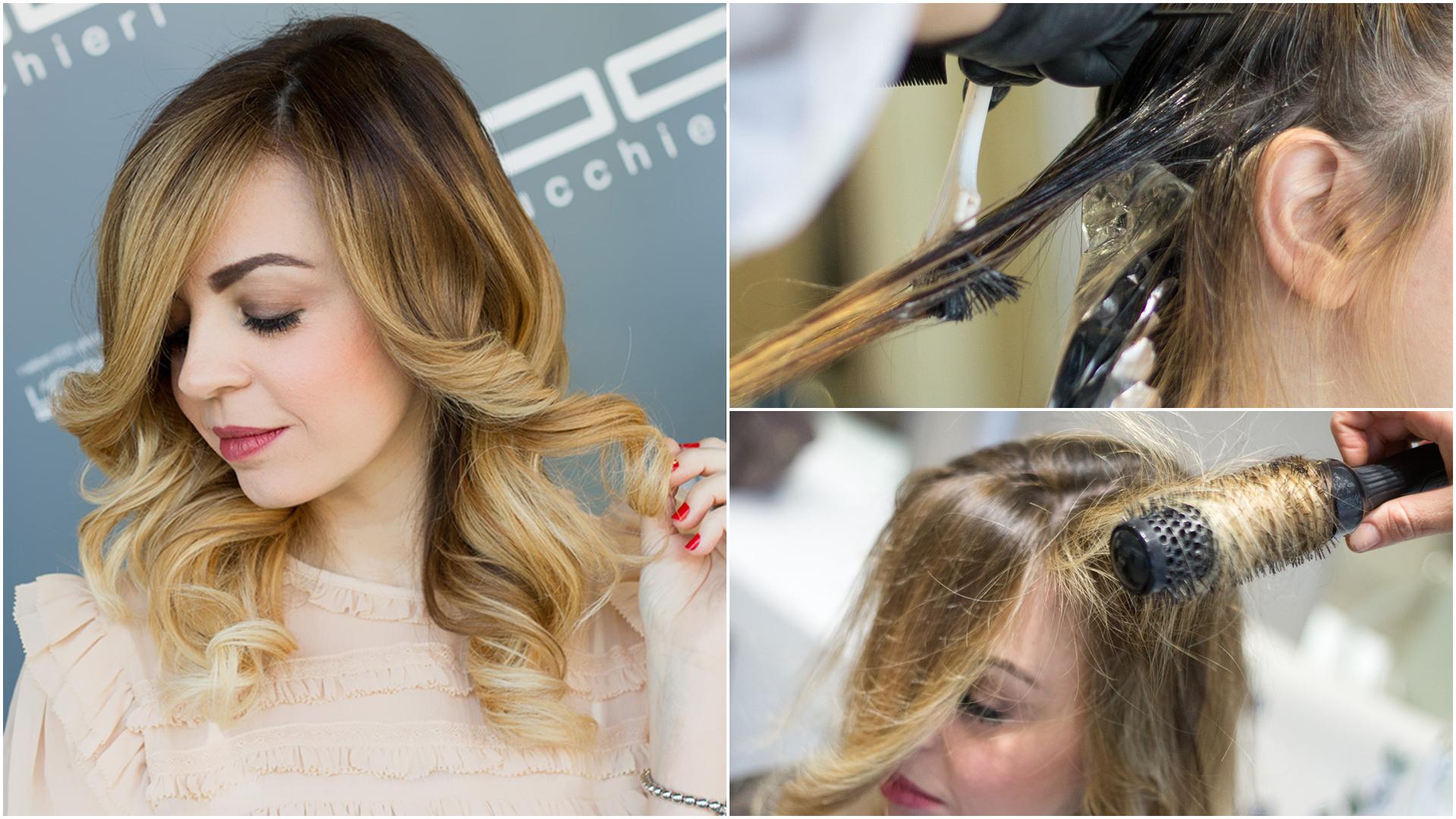Colore di capelli degrade