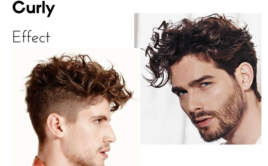 Tagli capelli ricci da uomo