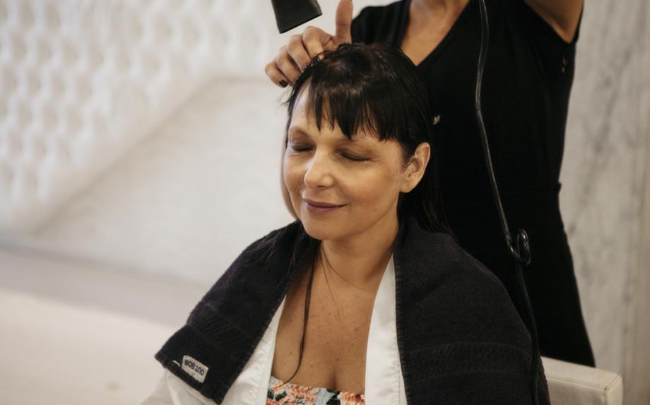 Piega Mare ad Onde, Salone Framesi, Sandra Bacci