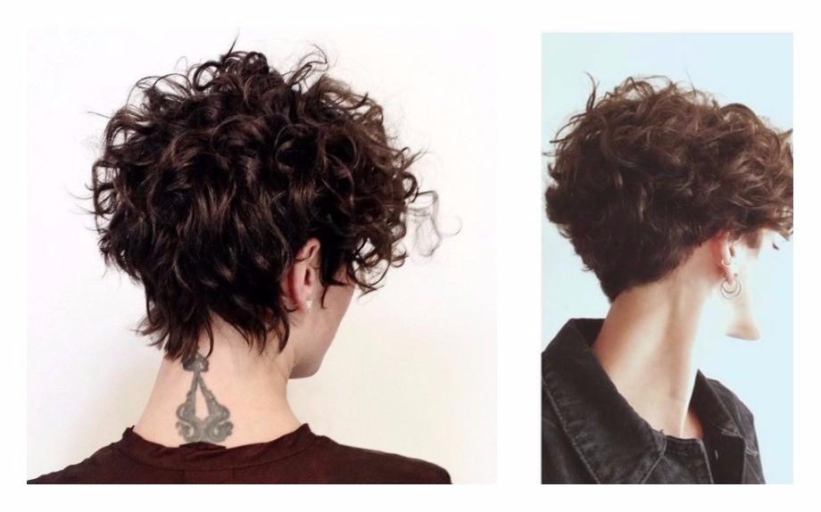 Tagli di capelli ricci corti 2018